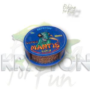 KRYSTON MANTIS SUPER BRAID | 25LB | 11.3KG |20M | GOLD-932