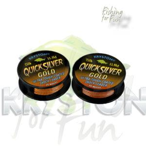 KRYSTON QUICKSILVER GOLD SHOCKLEADER | 25LB | 11.4KG | 20M-935
