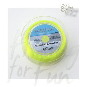 SAKUMA SHOCKLEADER YELLOW | 60LB | 0.70MM | 100M-957