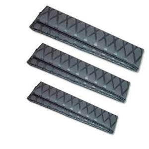 X WEAVE SHRINK WRAP TUBING 25 MM BLACK-954