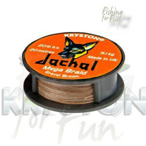 KRYSTON JACKAL MEGA BRAID GRAVEL BROWN-1689