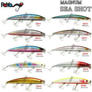 PAYO SEA SHOT MAGNUM MINNOW 180 FLOATING LURE 180mm 30gr ΤΕΧΝΗΤΟ-2465