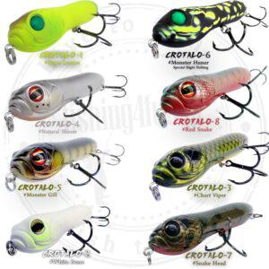 PAYO CROTALO 130 NOISE TOPWATER LURE 130mm 33gr ΤΕΧΝΗΤΟ-2555
